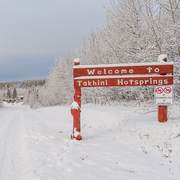 Takhini Hot Springs Road