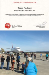 United Way Plane Pull