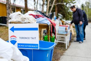 Terence Tait Garage sale